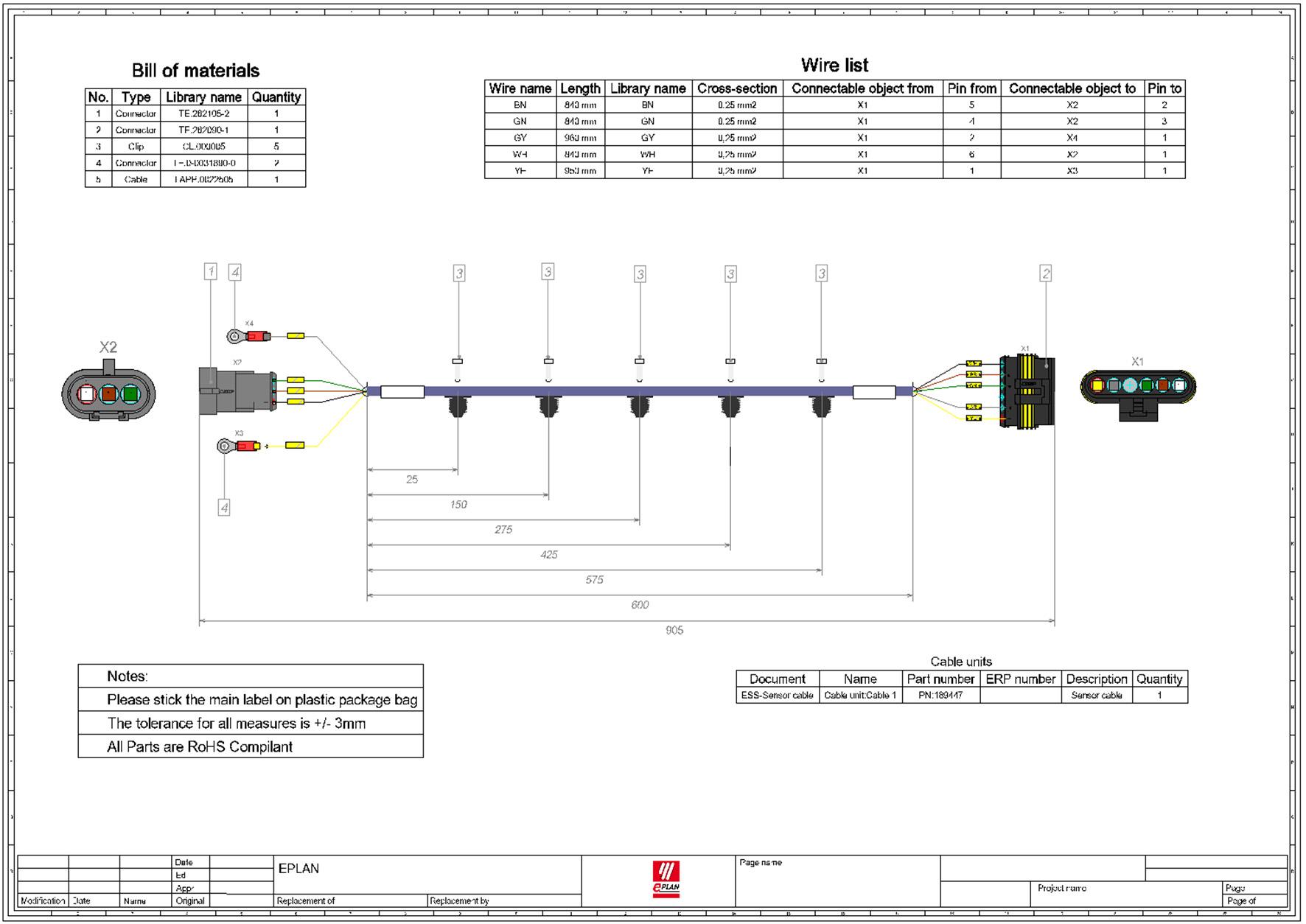 Schemi Elettrici Software : Software d d per l ingegneria di cablaggio